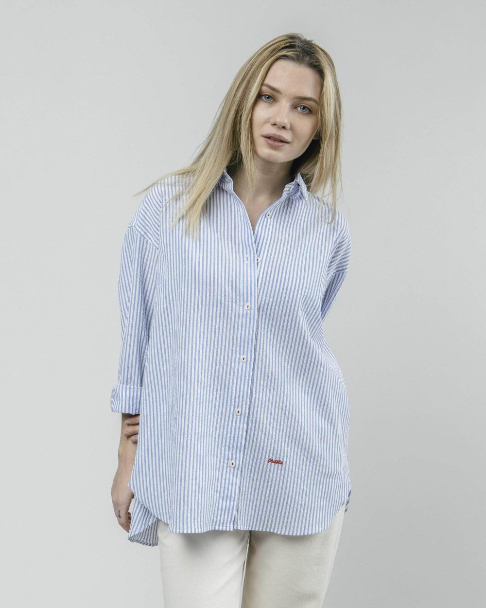 Sakuraya tea oversized blouse - Brava Fabrics