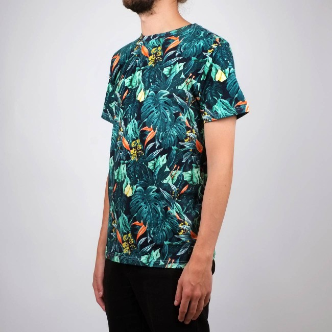 T-shirt motif jungle en coton bio - Dedicated num 3