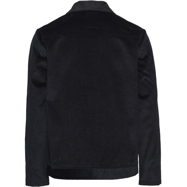 Veste marine velours en coton bio - Knowledge Cotton Apparel num 3
