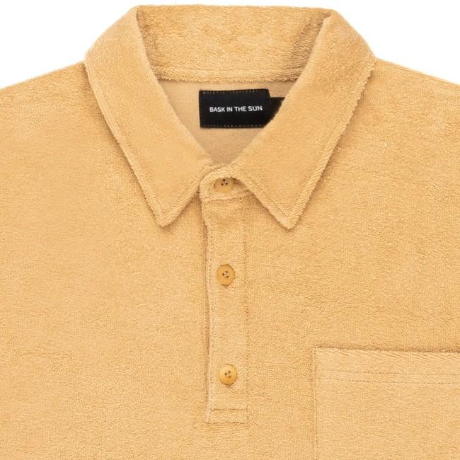 Polo en coton bio sand xan - Bask in the Sun num 1