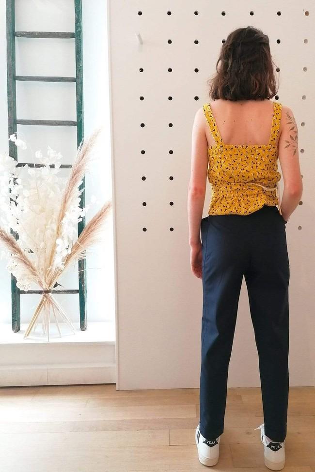 Pantalon kipants dress blue - Les Récupérables num 2