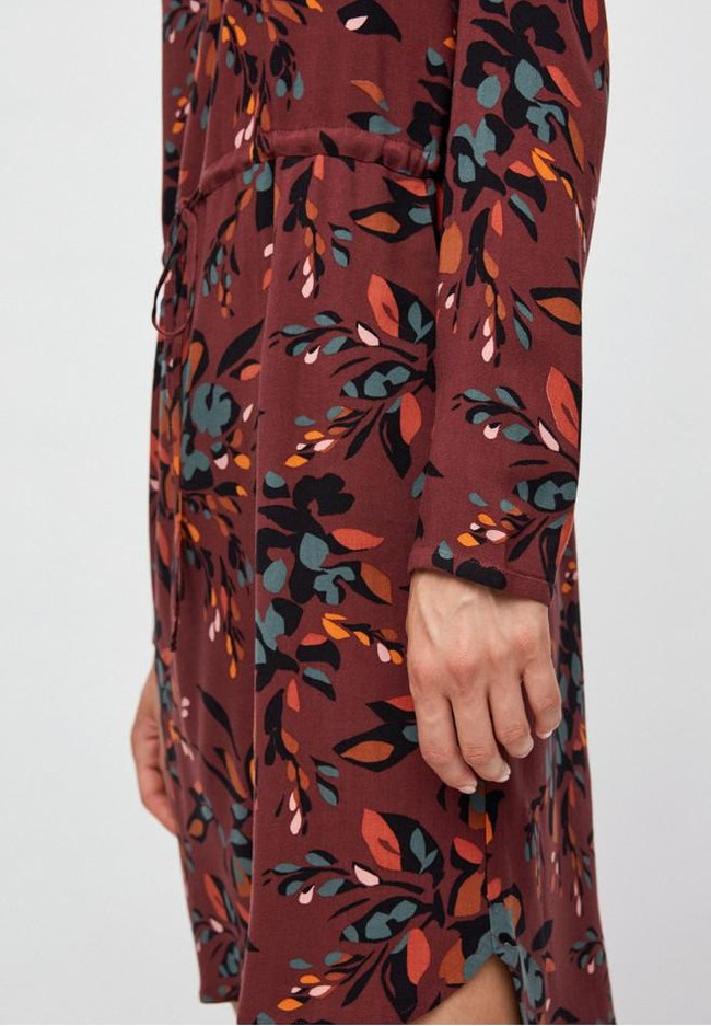 Robe à imprimés floraux en lenzing - edurnaa falling leaves - Armedangels num 2