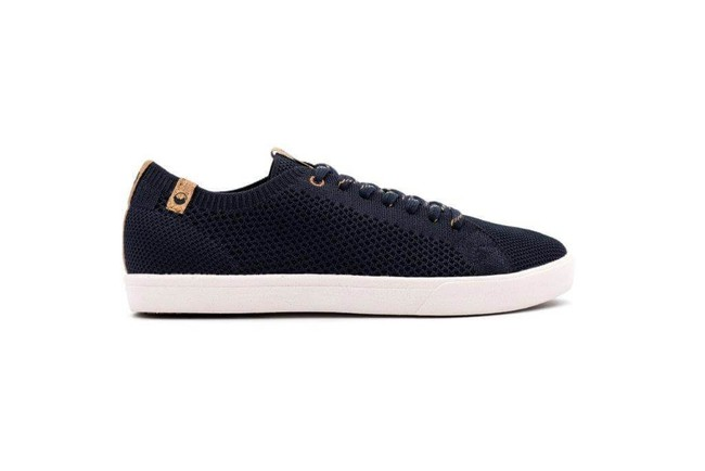 Chaussures recyclées cannon knit navy - Saola num 3