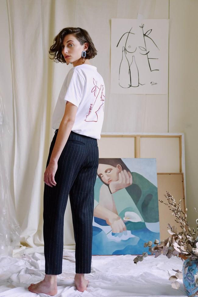 T-shirt coton bio - noyoco x diane - Noyoco num 5