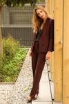 Pantalon tailleur berlin prune - 17h10 - 5