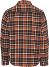 Surchemise à carreaux orange et marron en coton bio - pine - Knowledge Cotton Apparel - 5