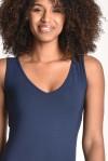 Robe longue lyane bleu marine - Thelma Rose - 2