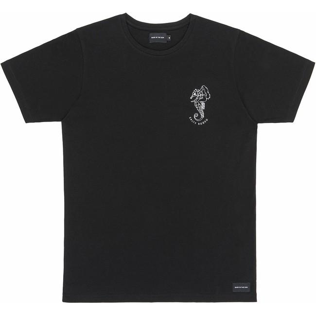 T-shirt en coton bio black salty rodeo - Bask in the Sun
