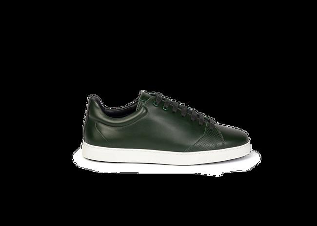 Chaussure en gravière cuir vert sapin - Oth num 3