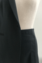 Jupe tailleur naples vert profond - 17h10 num 2