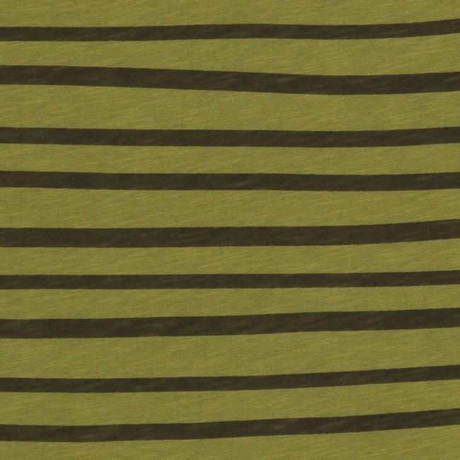 T-shirt en coton bio kaki esperanza - Bask in the Sun num 2