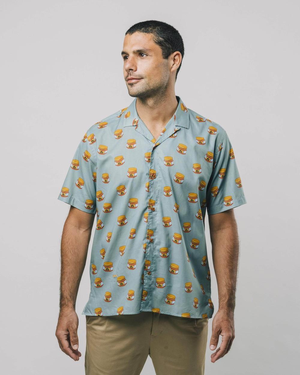 Tiger brava aloha shirt - Brava Fabrics