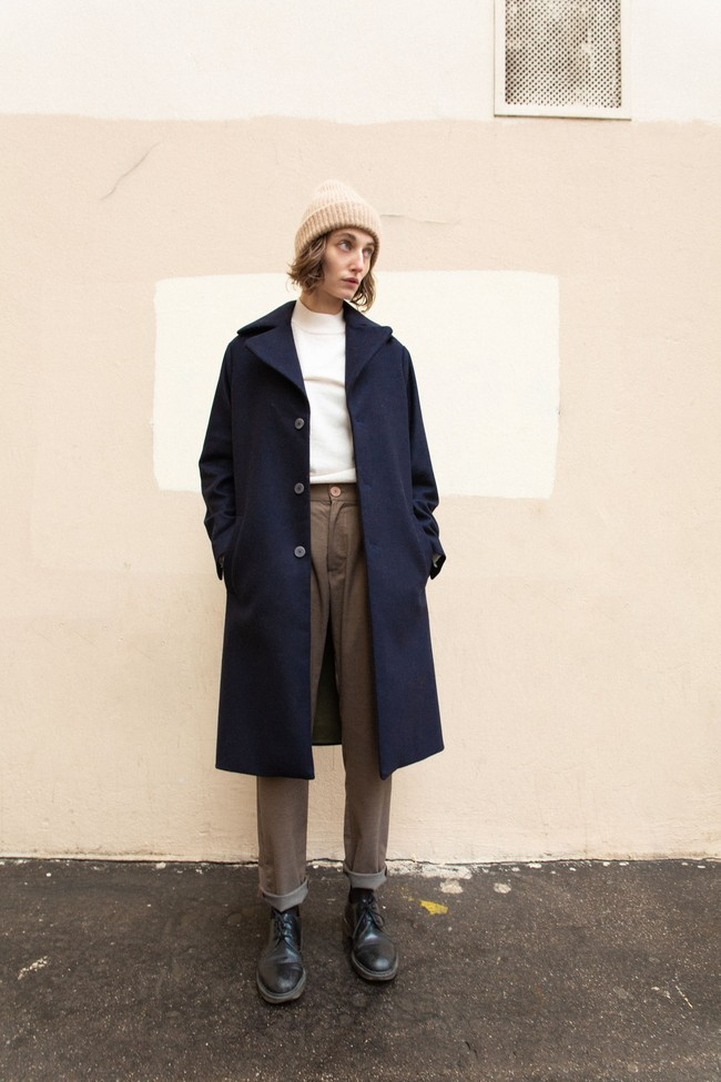 Manteau glasgow laine & cachemire - Noyoco