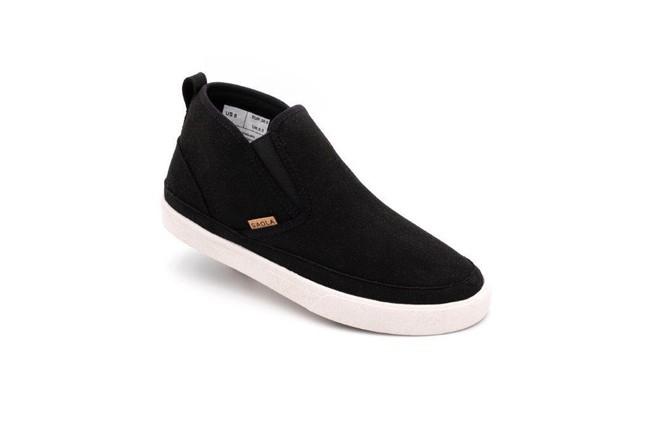 Chaussures recyclées tahoe black - Saola