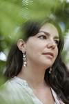 Boucles d'oreilles feuilles hoya kerrii - argent recyclé - Elle & Sens - 1
