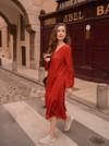 Robe couleur brique - Maison Alfa - 1