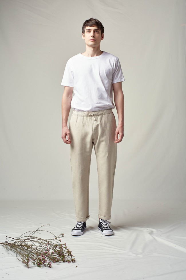 Pantalon tenerife en lin - Noyoco num 1