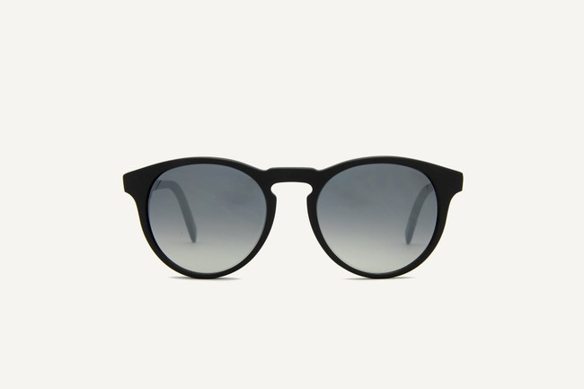 Lunettes de soleil - brighton matte recycled black - Dick Moby