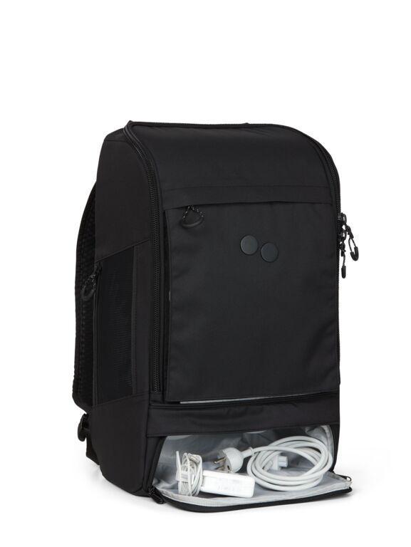 Sac à dos noir recyclé - cubik grand - pinqponq num 1