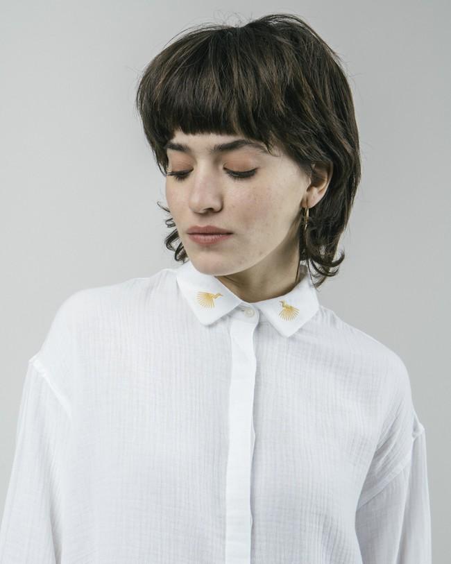 Japanese sky essential blouse - Brava Fabrics num 4