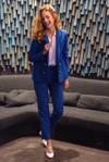 Veste tailleur boston bleu roi - 17h10 - 4
