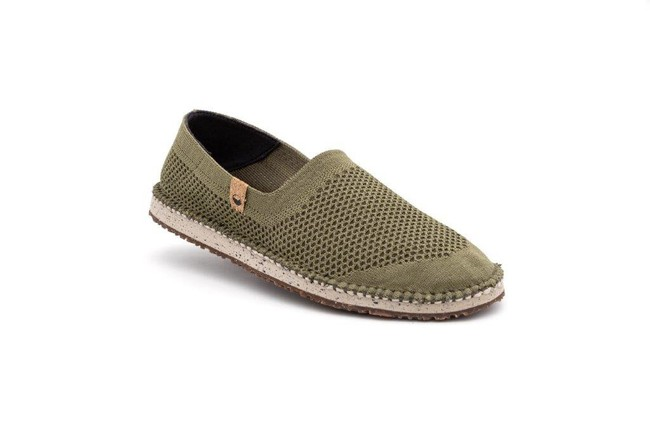Chaussures recyclées sequoia burnt olive - Saola