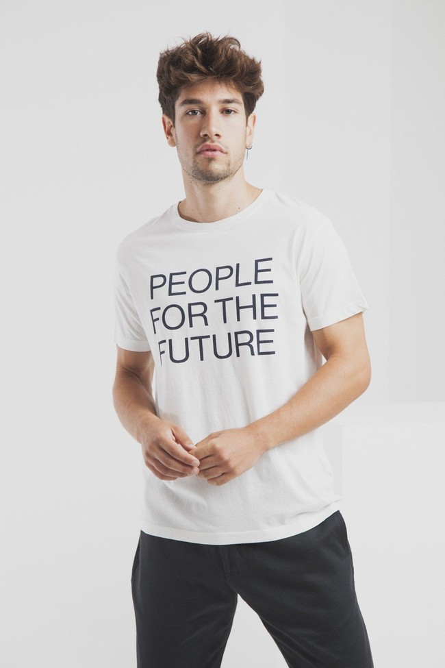 T-shirt en coton bio people for the future - Thinking Mu num 0