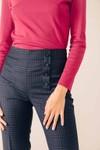 Pantalon tailleur oslo tartan bleu - 17h10 - 4