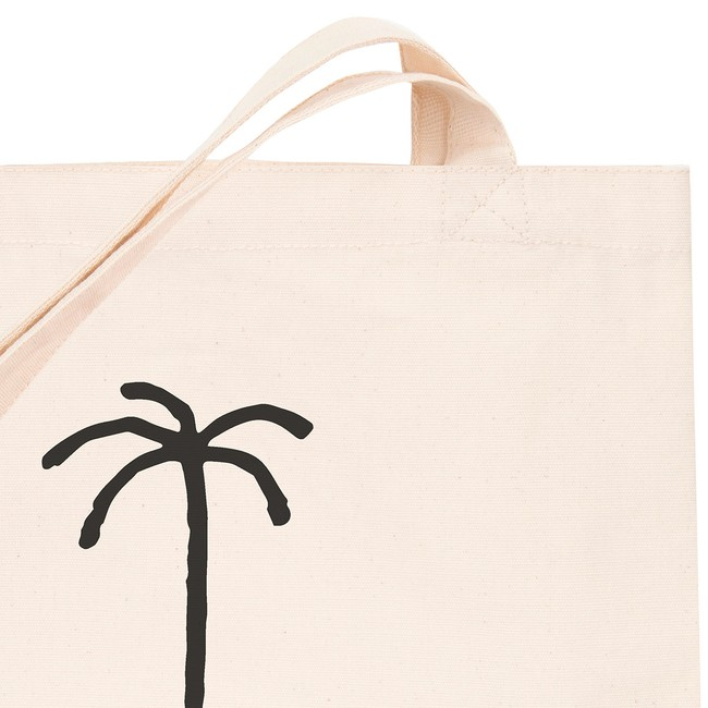 en coton bio white palm tree - Bask in the Sun num 2