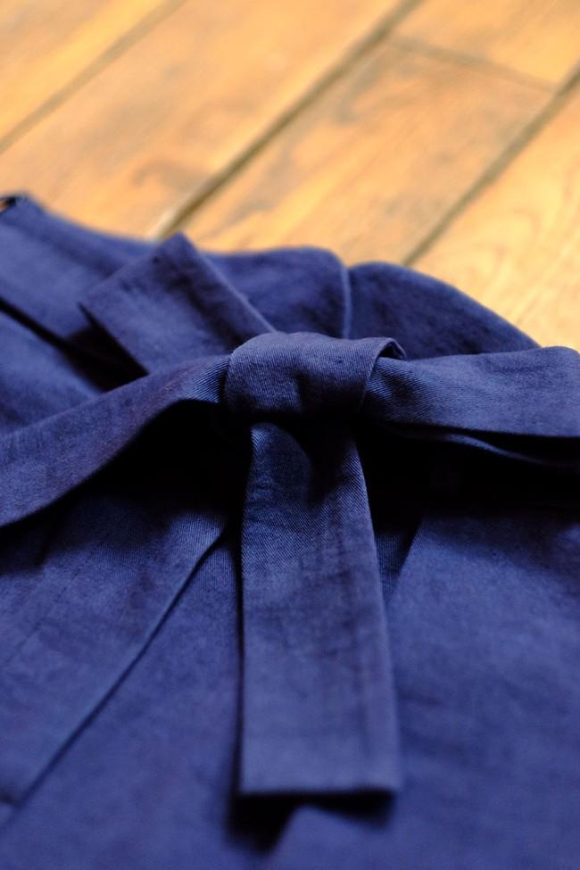 Le Pantalon Zephyr Marine en coton bio - Atelier Unes num 3