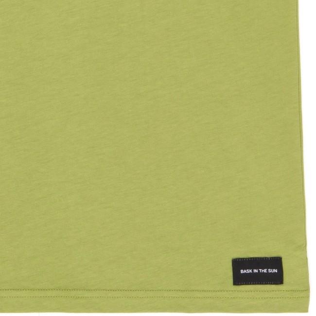T-shirt en coton bio olive teofilo - Bask in the Sun num 3
