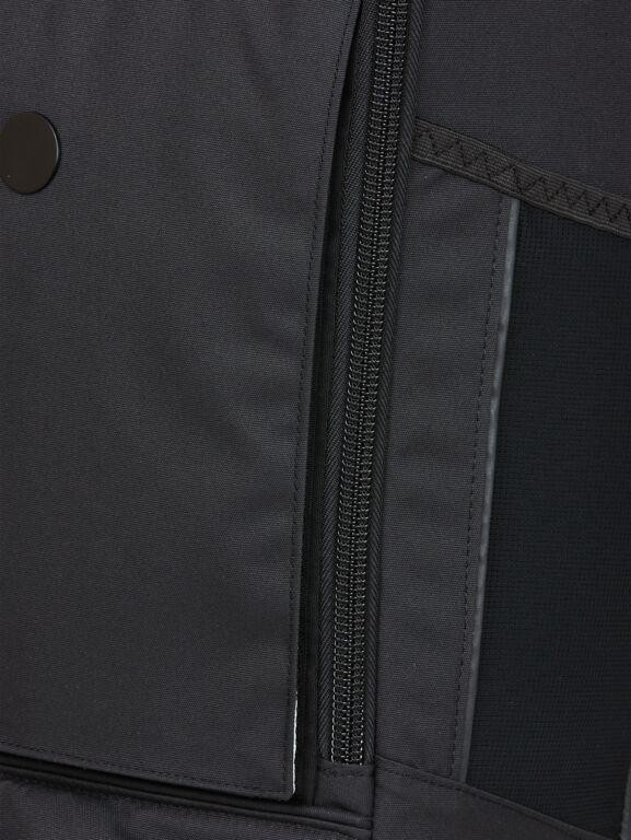 Sac à dos noir recyclé - cubik grand - pinqponq num 6