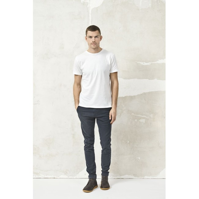 T-shirt blanc en coton bio - Knowledge Cotton Apparel num 4