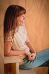 T-shirt femme coton sauvage chachani - Pitumarka - 1
