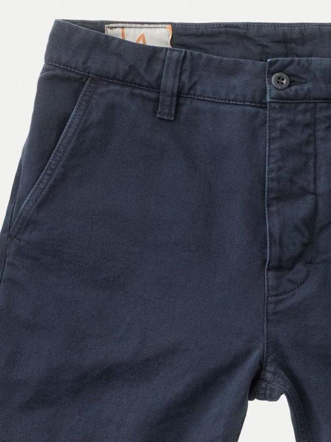 Short marine en coton bio - luke - Nudie Jeans num 3