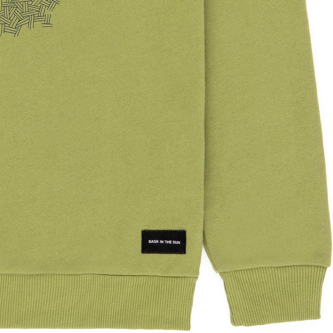 Sweat en coton bio olive smoking pipe - Bask in the Sun num 3
