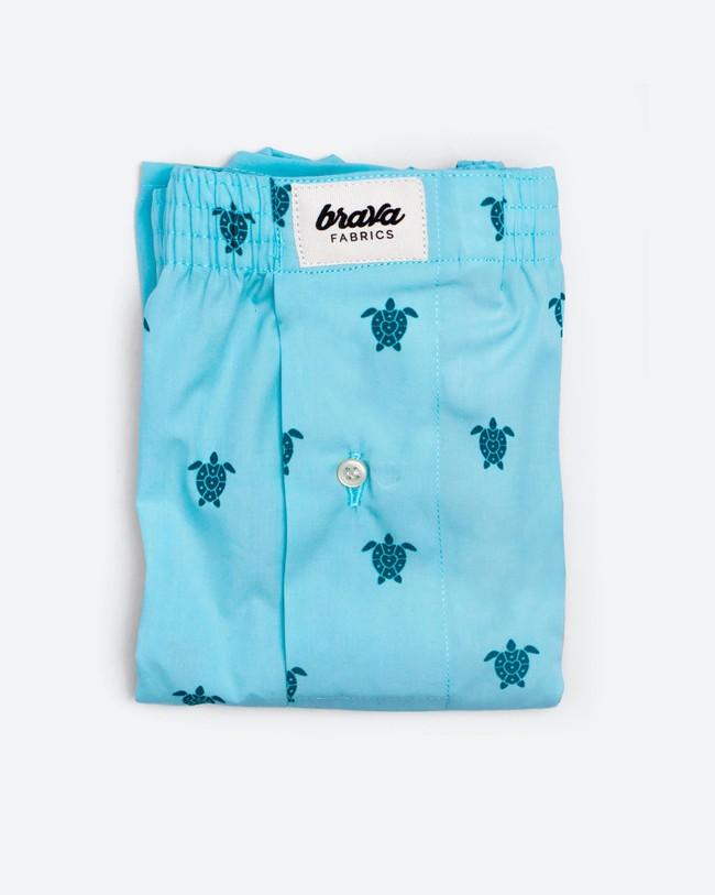 Turtle with love boxer - Brava Fabrics num 1