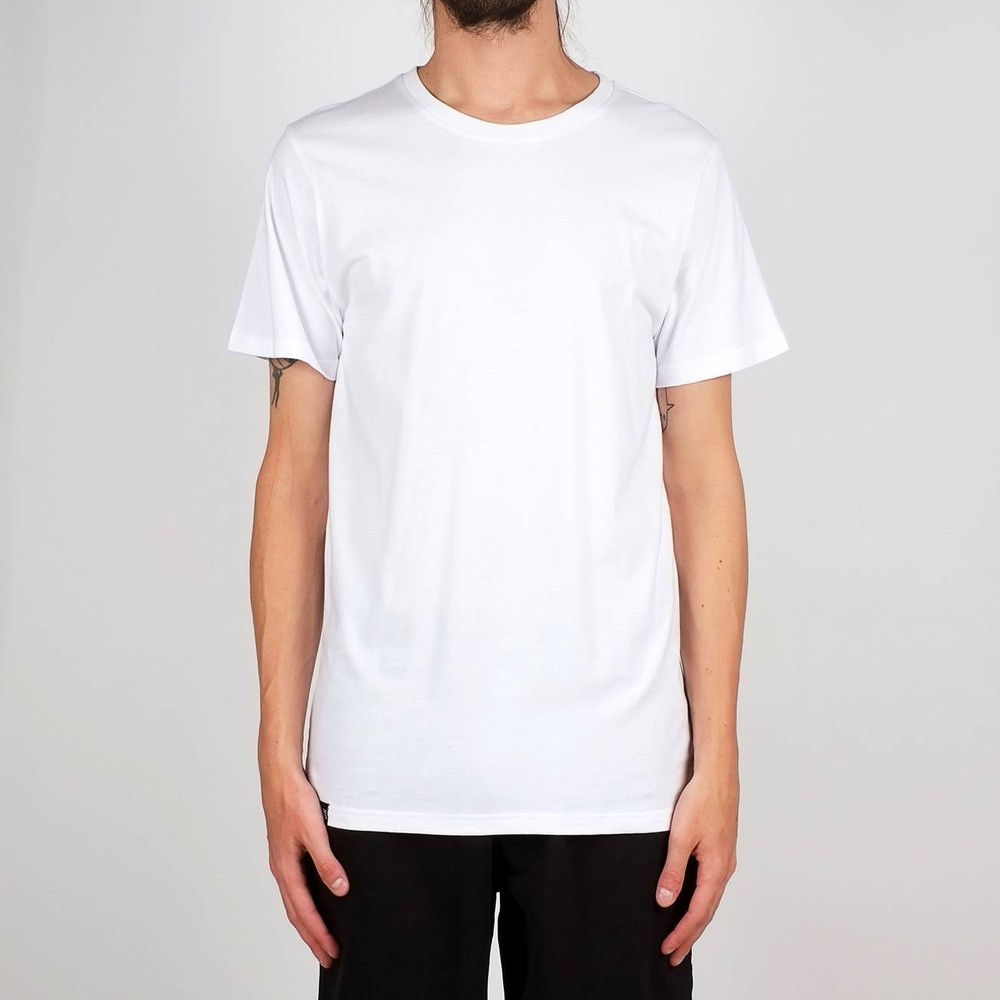 T-shirt blanc en coton bio - stockholm - Dedicated
