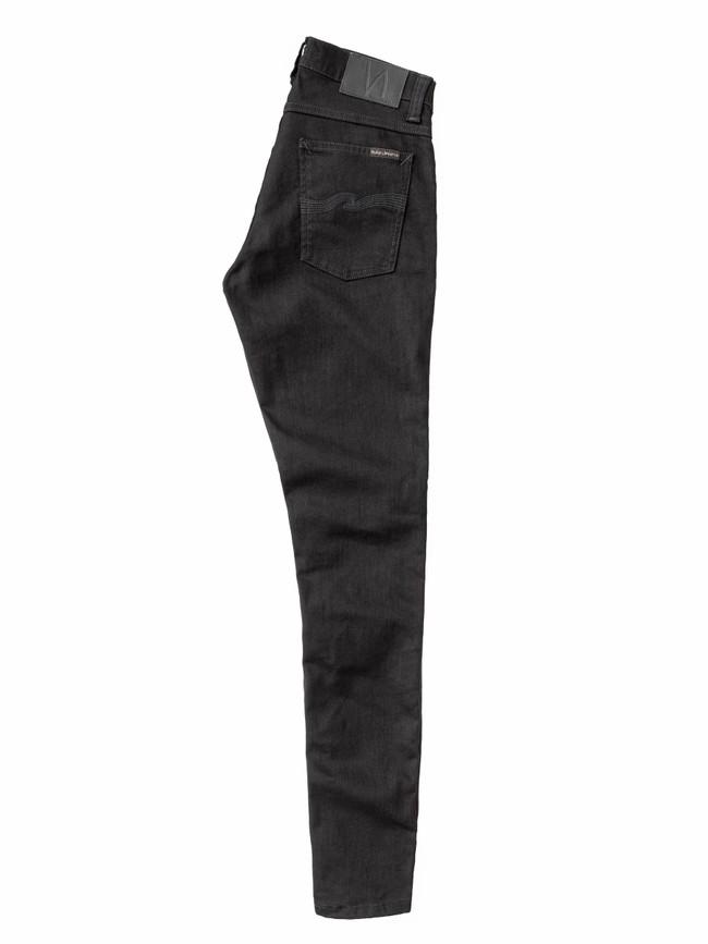 Jean skinny noir coton bio - tight terry deep black - Nudie Jeans num 3