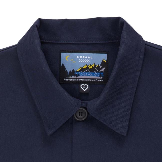 Veste recyclée - la veste bleue - Hopaal num 3