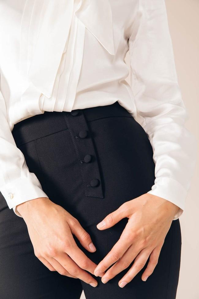 Pantalon tailleur oslo noir - 17h10 num 1