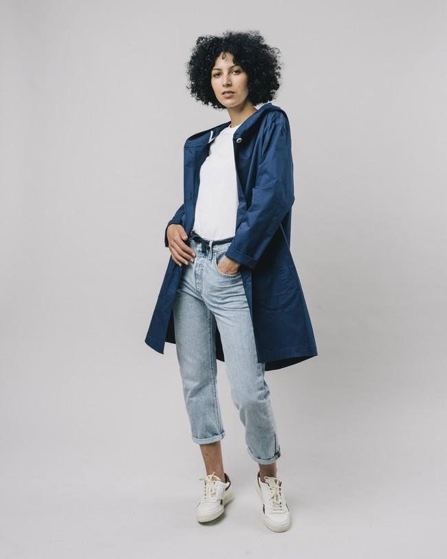 Hooded parka blue - Brava Fabrics num 2