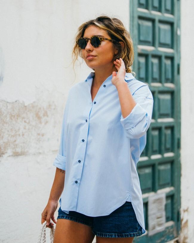 Tile essential oversized blouse - Brava Fabrics num 6