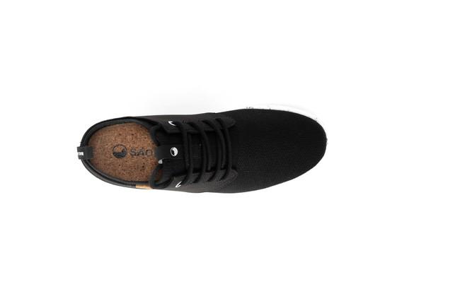 Chaussures recyclées semnoz femme noir - Saola num 3