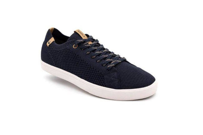 Chaussures recyclées cannon knit navy - Saola