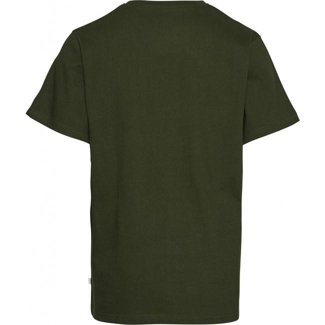 T-shirt ample vert forêt en coton bio - Knowledge Cotton Apparel num 1