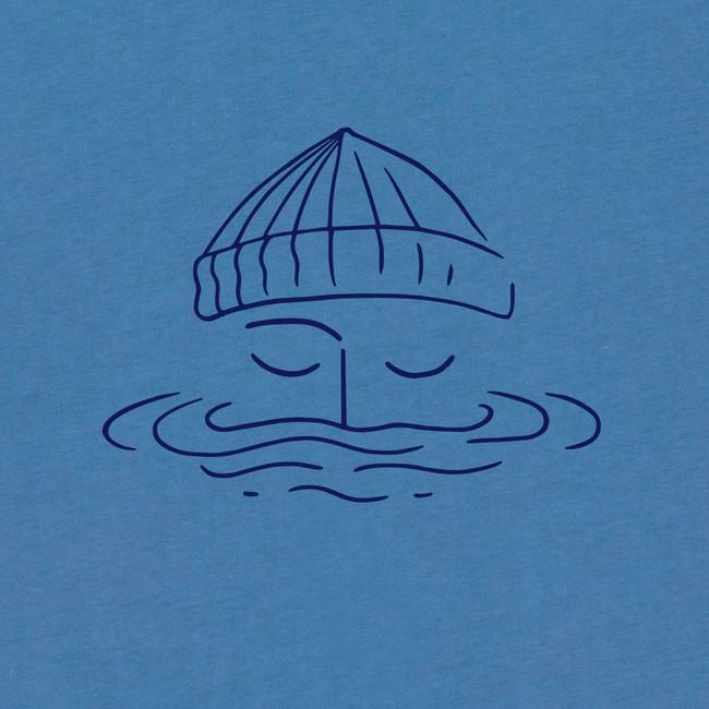 T-shirt en coton bio blue sailor - Bask in the Sun num 2