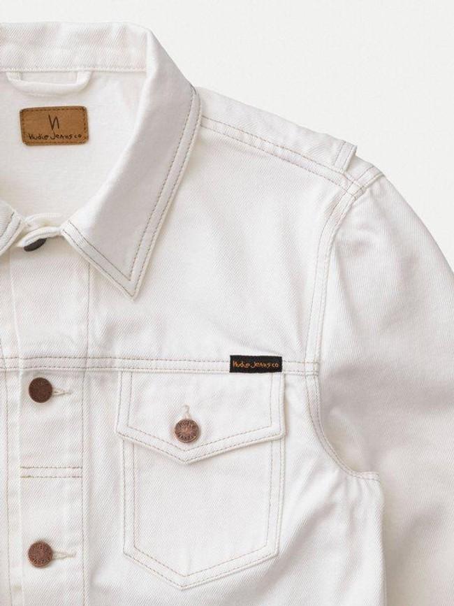 Veste en jean écru en coton bio - tommy - Nudie Jeans num 3