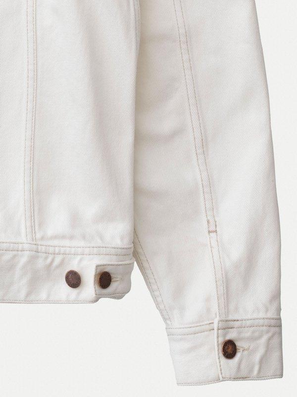 Veste en jean écru en coton bio - tommy - Nudie Jeans num 4