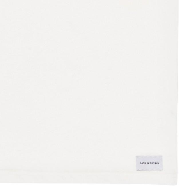T-shirt en coton bio white tennis - Bask in the Sun num 3
